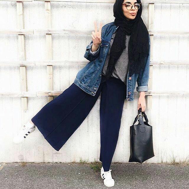 Model Busana Muslim Modern Untuk Remaja Modis 3
